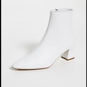 NEW NIB Vince Lanica Booties White 6.5